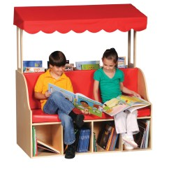 Reading Chair For Kids Barber Shop Chairs Sale Used Guidecraft Canopy Center Wayfair