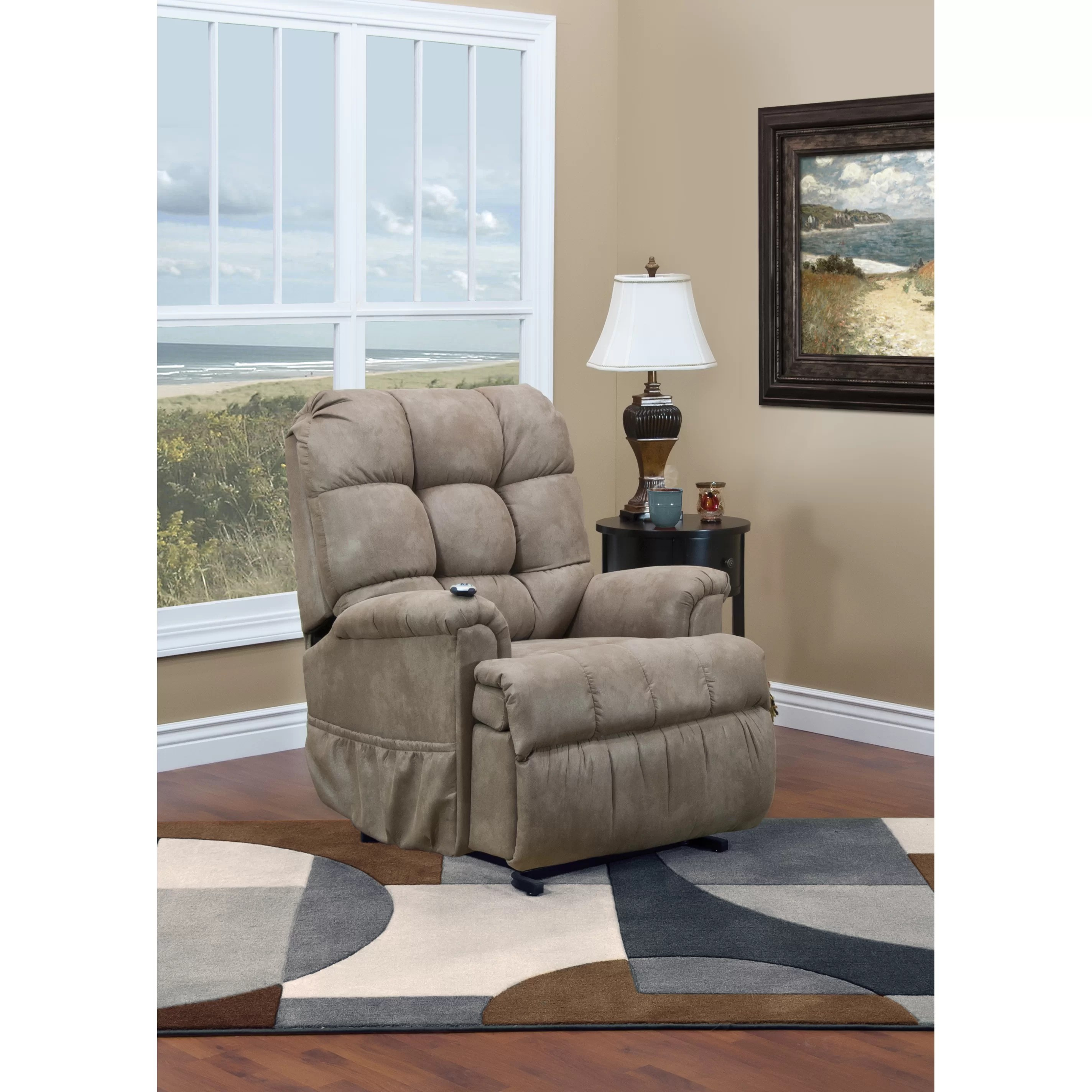Med Lift Chairs Med Lift 5500 Series Wall A Way Reclining Lift Chair