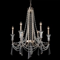 Varaluz Barcelona 6 Light Crystal Chandelier
