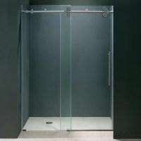 Vigo Elan 44 to 48-in. Frameless Sliding Shower Door with ...