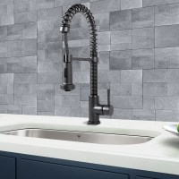 Vigo Edison Single Handle Pull-Down Spray Kitchen Faucet ...