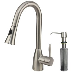 Vigo Kitchen Faucet Wine Bottle Themed Decor Aylesbury Single Handle Pull Down Spray