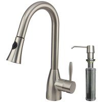 Vigo Aylesbury Single Handle Pull-Down Spray Kitchen ...