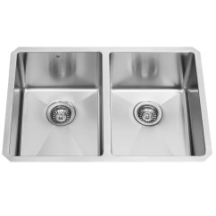 Buy Undermount Kitchen Sink Wolf Cabinets Vigo 29 Inch 50 Double Bowl 16 Gauge