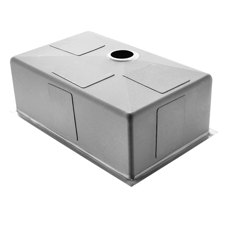 30 undermount kitchen sink prefab commercial vigo inch single bowl 16 gauge stainless