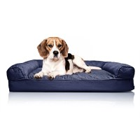 Zoey Tails Quilted Orthopedic Sofa-Style Dog Bed & Reviews ...