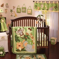 NoJo Jungle Babies 8 Piece Crib Bedding Set & Reviews ...