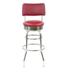 Swivel Chair Regal Hot Pink Velvet Chairs New Retro Express Bar Stool And Reviews Wayfair