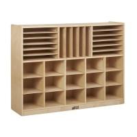 ECR4Kids Multi Section Storage Cabinet 32 Compartment ...