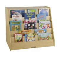 ECR4Kids Book Display and Book Shelf Storage Unit ...