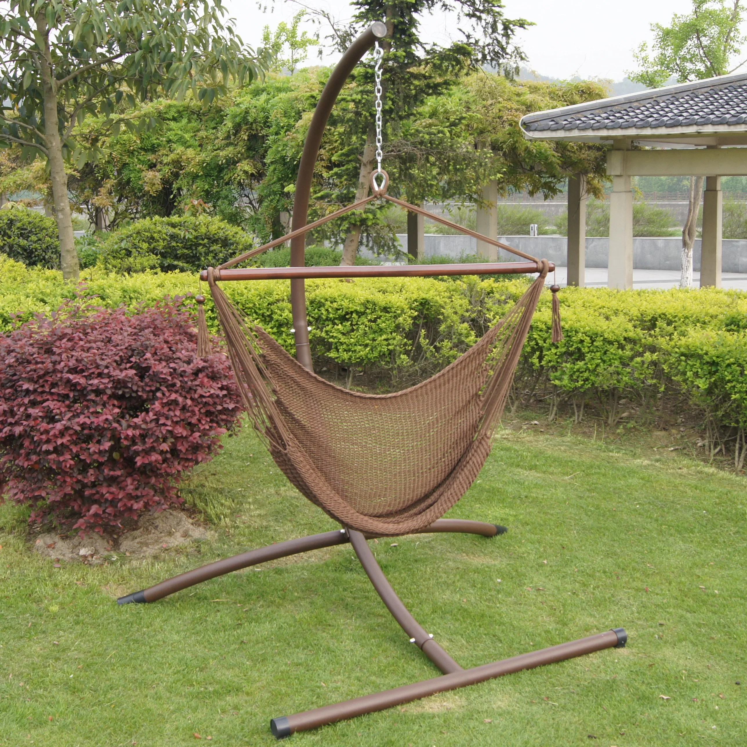 steel hammock chair stand green accent with arms buyers choice phat tommy deluxe and