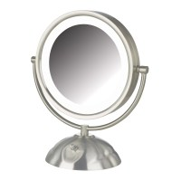 Jerdon 5x 1x Euro Lighted Makeup Mirror - Mugeek Vidalondon