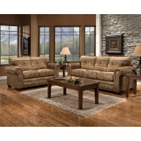 American Furniture Classics Wild Horses 4 Piece Living ...