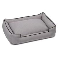 Jax and Bones Callen Textured Linen Lounge Dog Bed | Wayfair