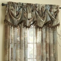"Croscill Madagascar Sheer 84"" Curtain Valance & Reviews ..."