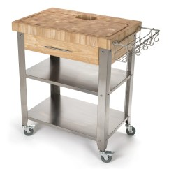 Butcher Block Kitchen Island Cart Refacing Cabinets Diy Chris And Pro Stadium With
