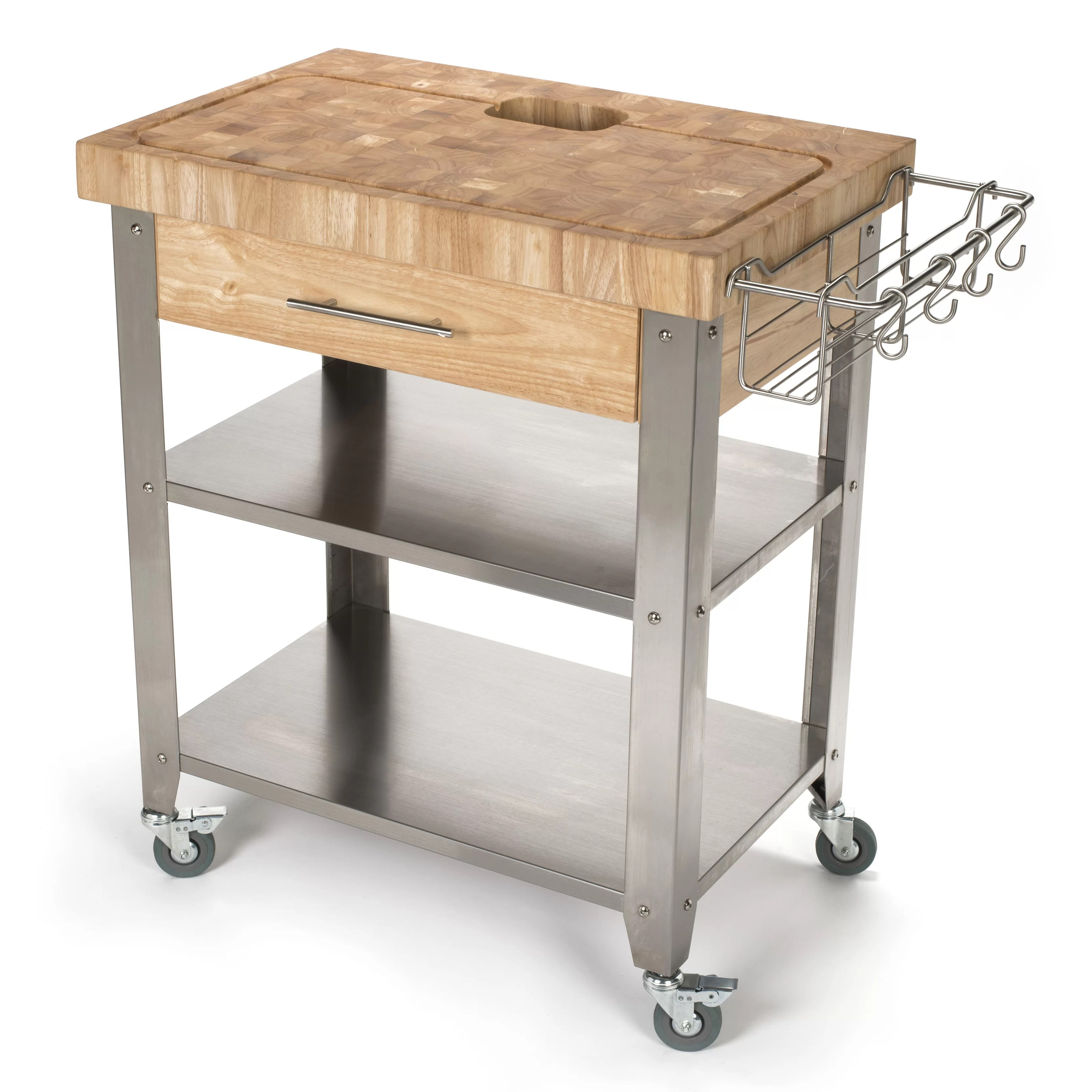 chris and kitchen cart cottage cabinets pro stadium with butcher block