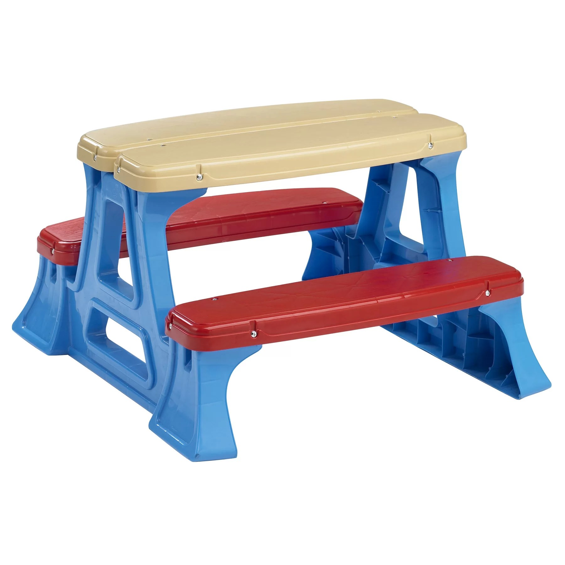 Plastic Toddler Chairs American Plastic Toys Kids Picnic Table And Reviews Wayfair