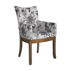 Floral Arm Chair Ikea Dining Chairs Somerton Dwelling Sophisticate And Reviews