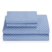 Tommy Hilfiger Chambray Dot 180 Thread Count Sheet Set ...