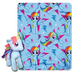My Little Pony Table And Chairs Card Target Northwest Co Rainbow Dash 2 Piece Fleece