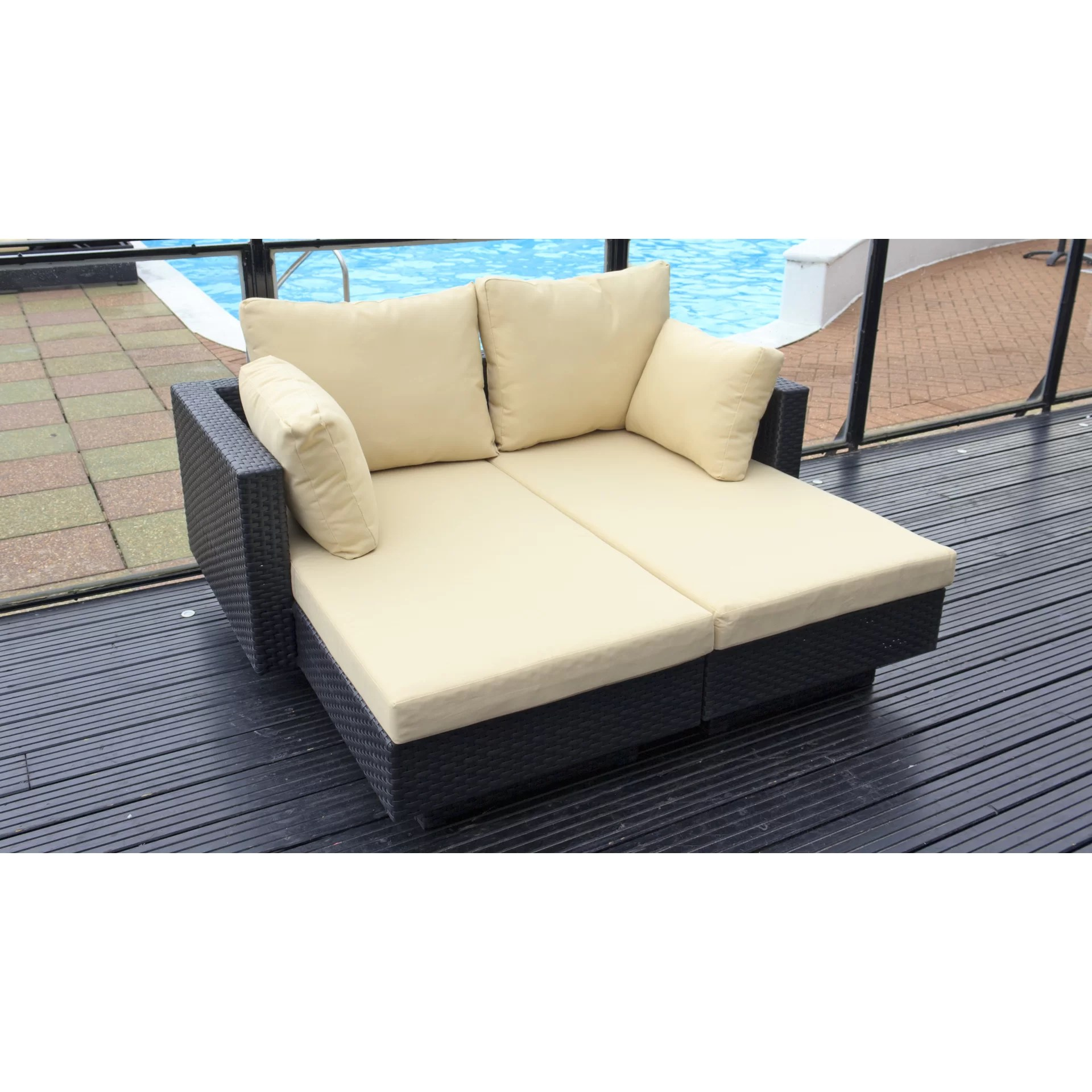 cushion sofa set cheap italian leather sofas uk cozy bay chicago 2 seater with cushions wayfair