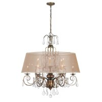 World Imports Lighting Belle Marie 12 Light Crystal