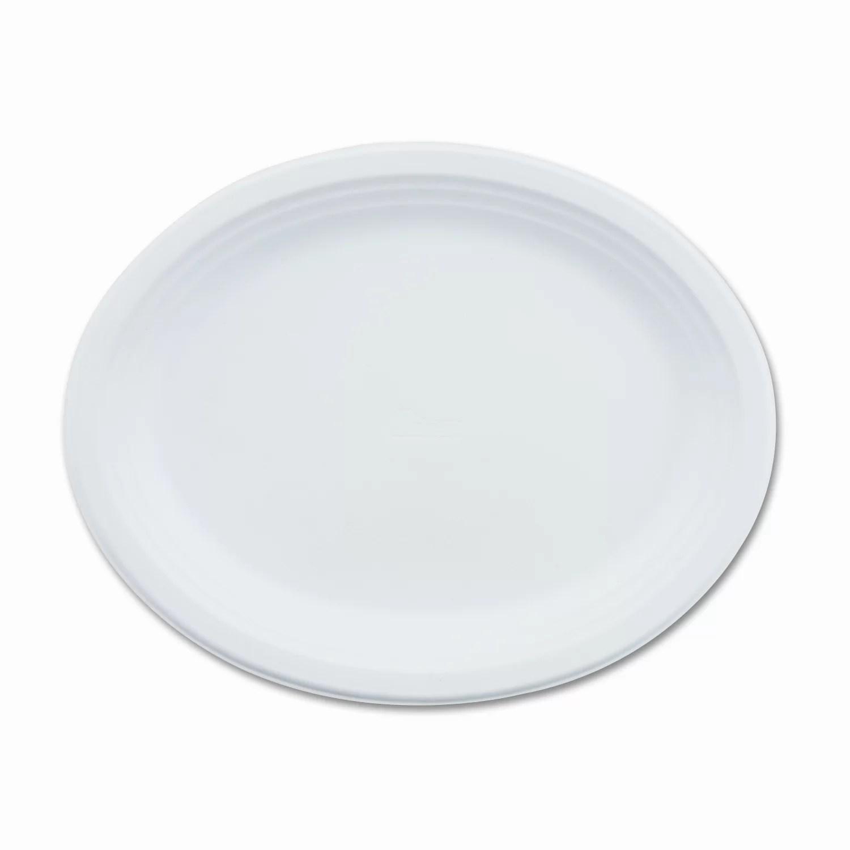 Chinet Paper Dinnerware, Oval Platter, 9
