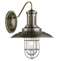 Searchlight Fisherman Caged 1 Light Armed Sconce