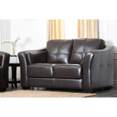 Abbyson Leather Sofa Reviews Chaise Lounge With Recliner Living Sydney Premium Loveseat And