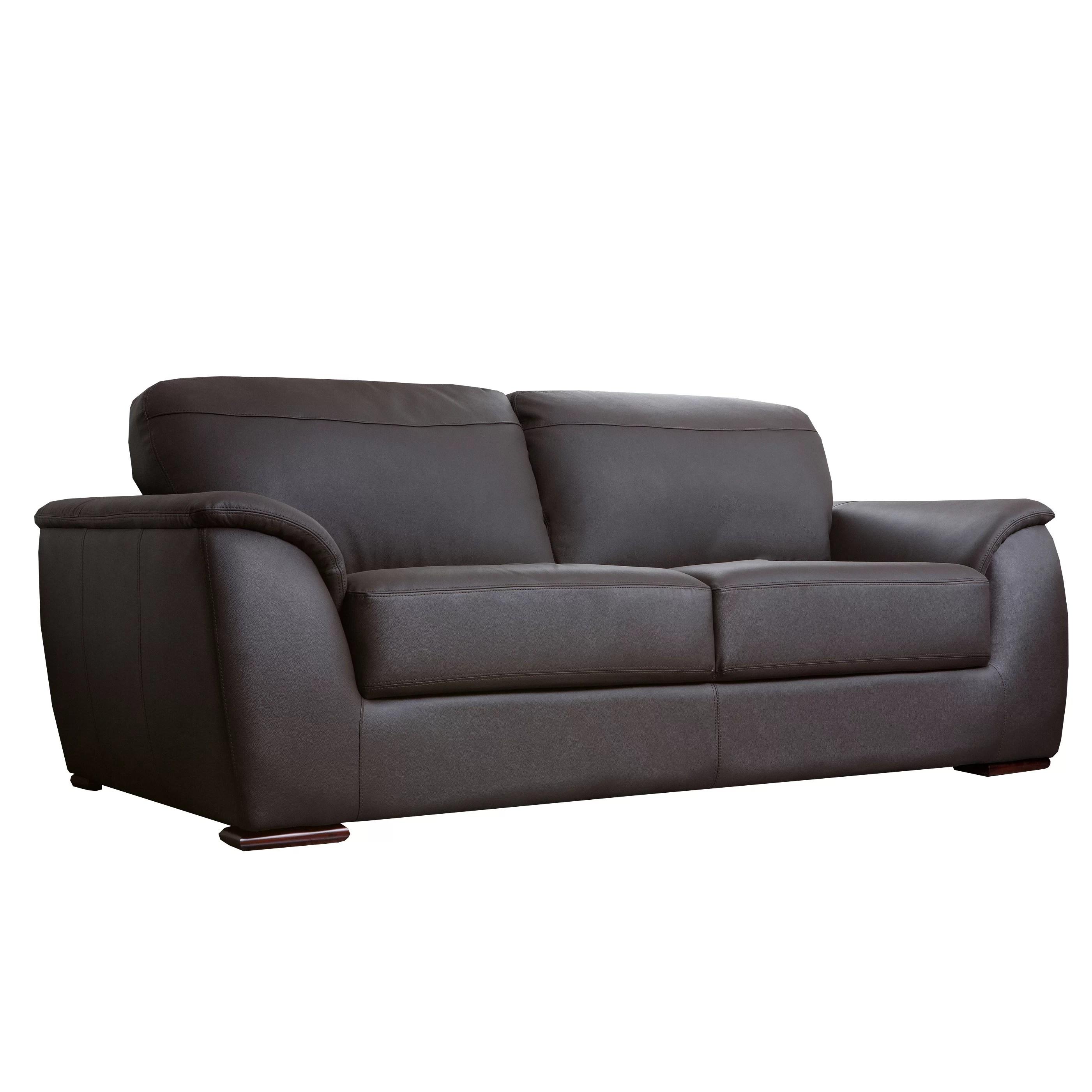 abbyson leather sofa reviews hickory chair sutton living ashton and wayfair