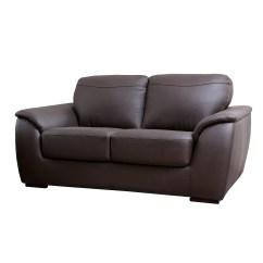 Abbyson Leather Sofa Brown Fabric Chaise Living Ashton Loveseat And Reviews Wayfair