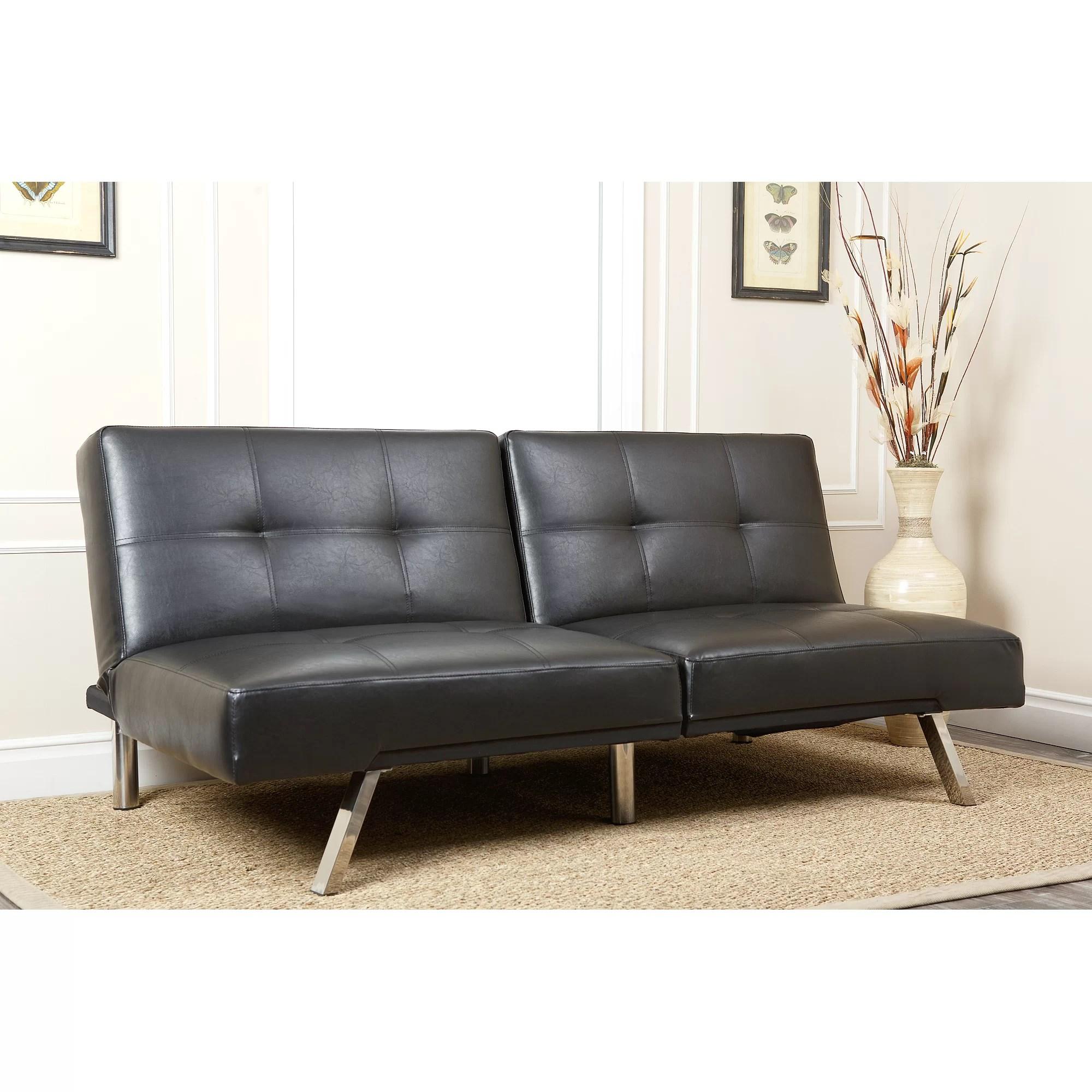 Abbyson Living Aspen Convertible Sleeper Sofa  Reviews  Wayfair
