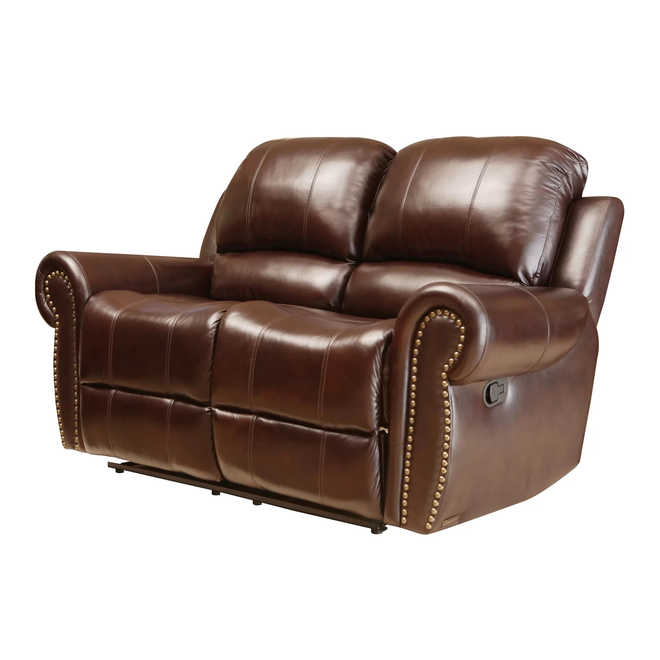 abbyson leather sofa most comfortable ikea bed living sedona reclining loveseat and reviews