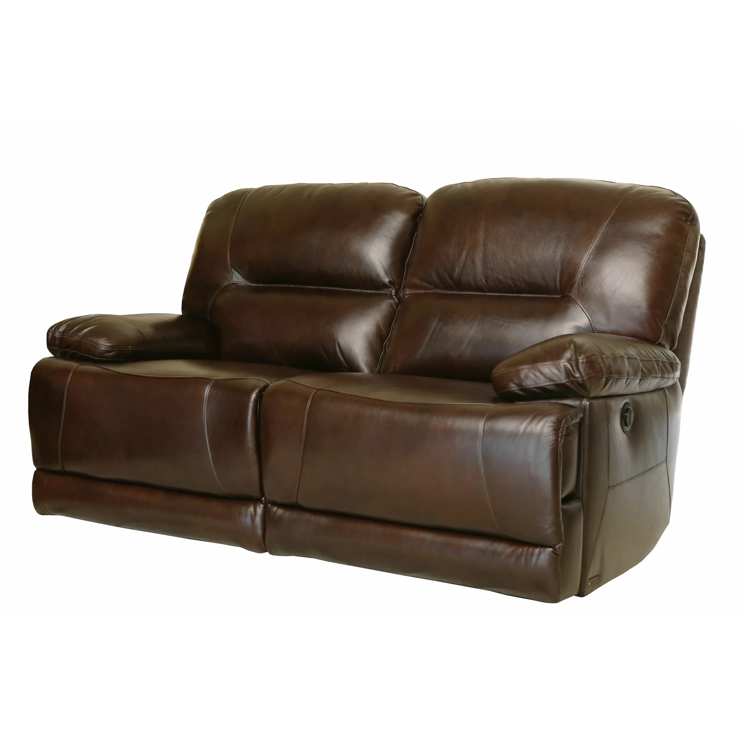 abbyson leather sofa leonardo large recliner black living brownstone power reclining loveseat