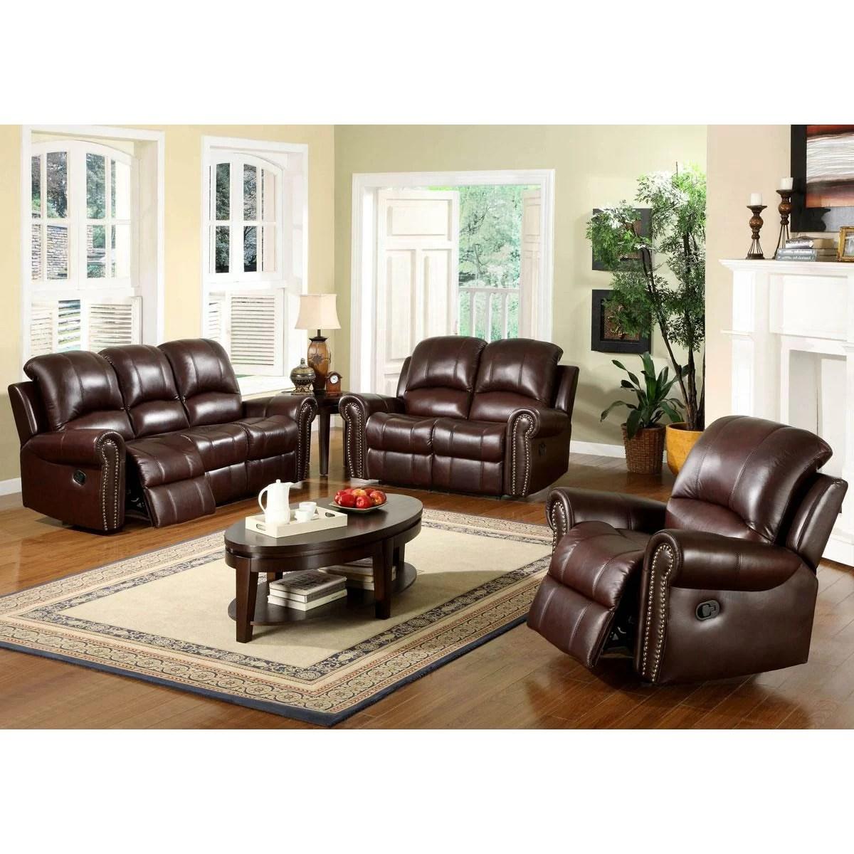 abbyson leather sofa reviews broyhill tribeca living sedona reclining loveseat and