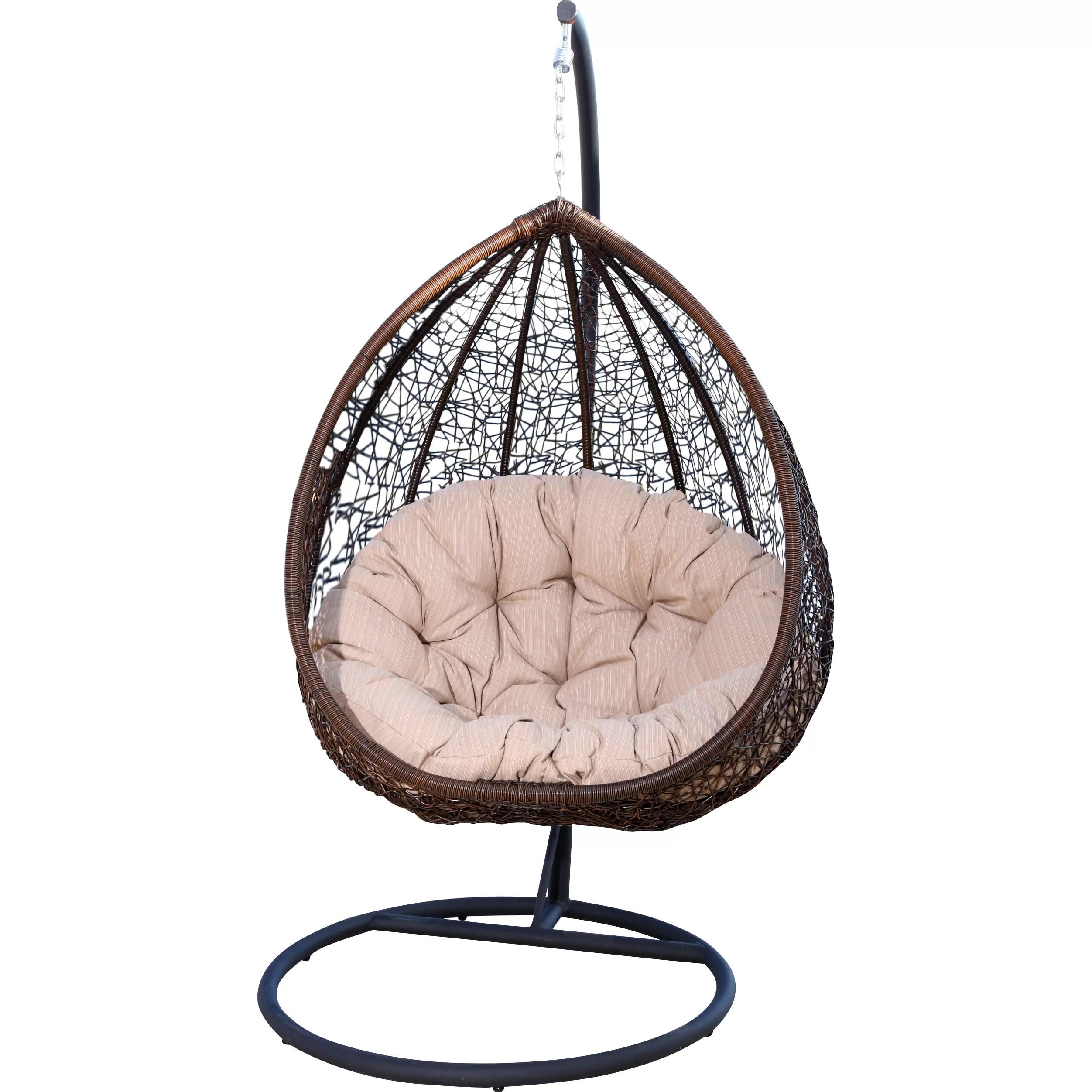 Abbyson Living Sonoma Swing Chair  Reviews  Wayfair