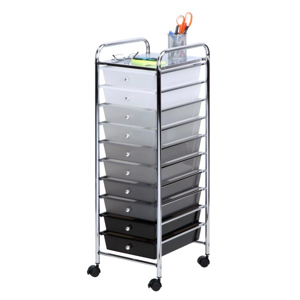 Honey 10-drawer Storage Chest &