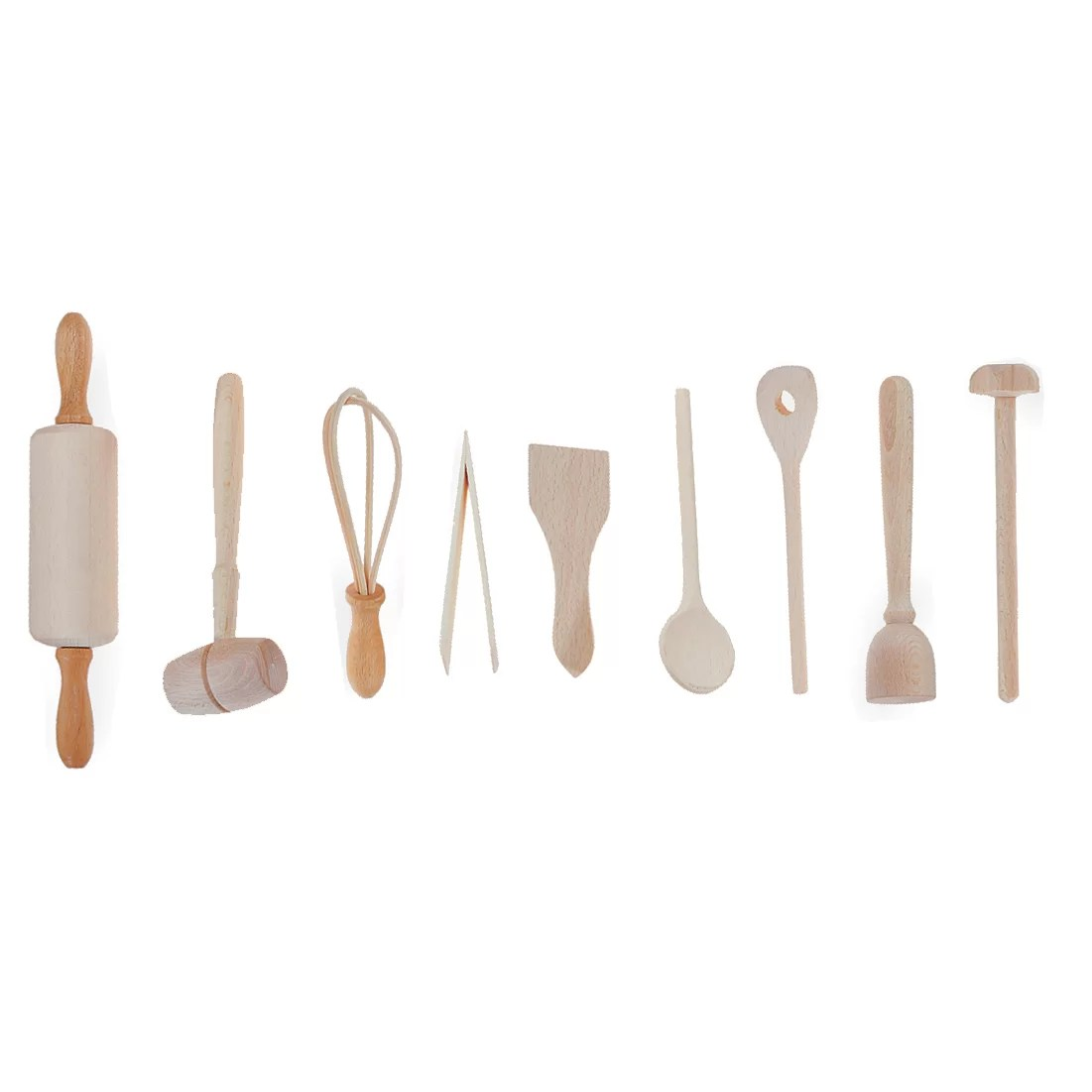 kitchen utensil set virginia beach hotels with fox run craftsmen 9 piece kids