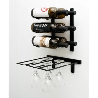 VintageView Wall Mounted Wine Glass Rack & Reviews | Wayfair