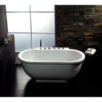"Ariel Bath 71"" x 37"" Whirlpool Bathtub & Reviews"