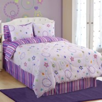 Veratex Glow in The Dark Star Dance Comforter Set ...
