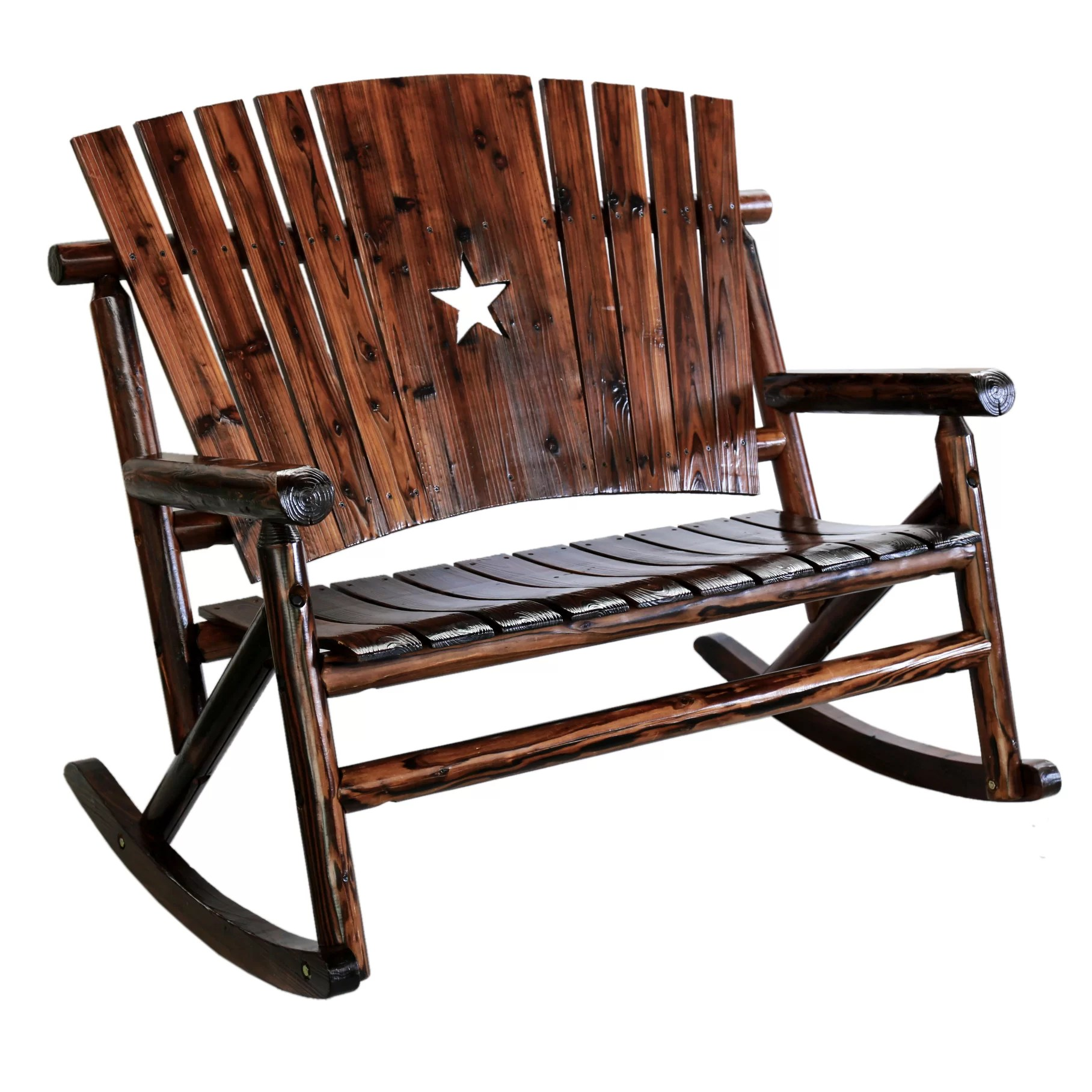 cracker barrel rocking chair reviews leather wing leighcountry char log star double ii