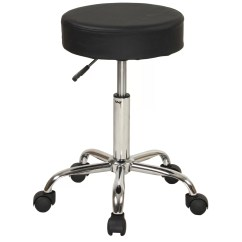Stool Chair On Wheels Silver Lounge Sierracomfort Relief Adjustable With And