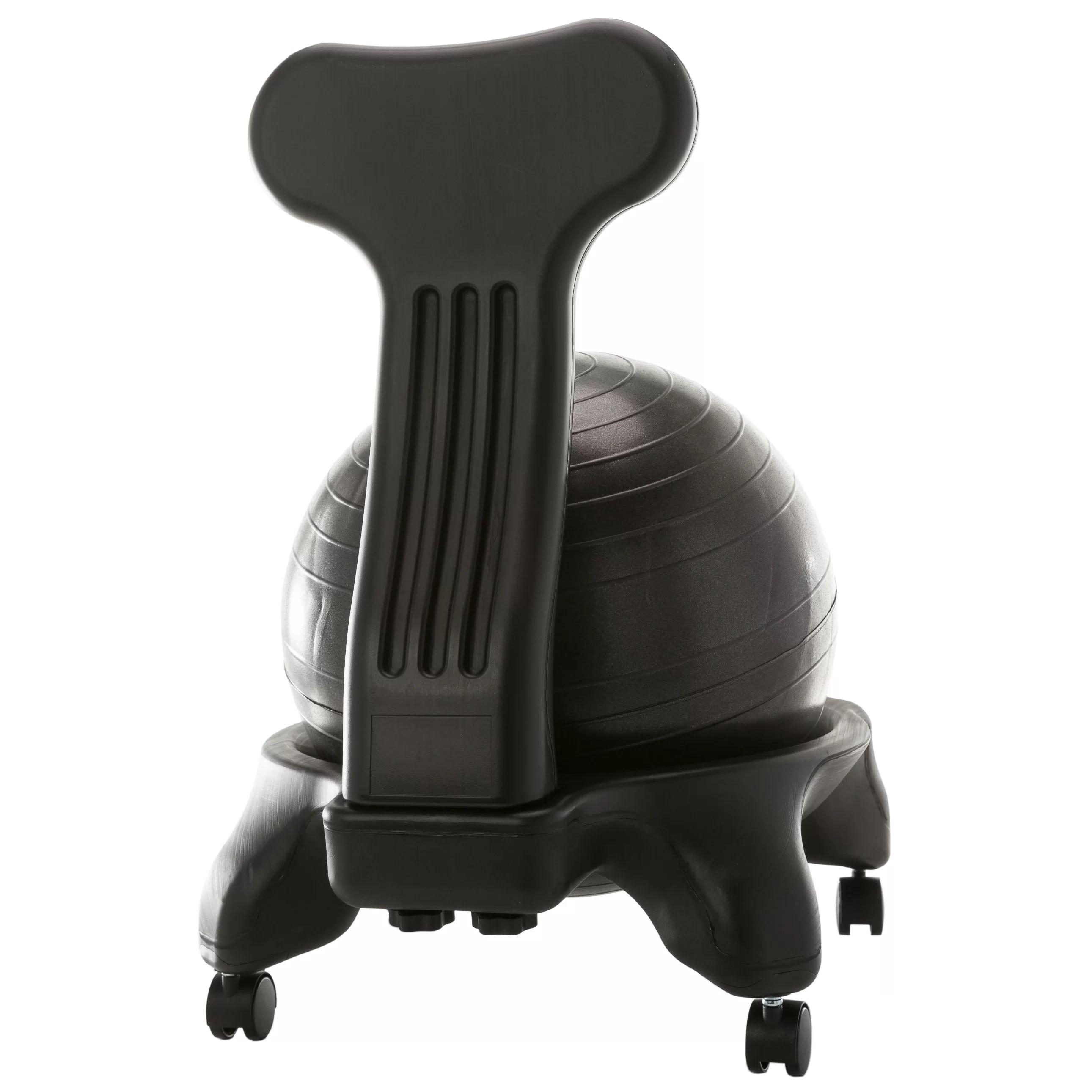 gym ball chair lightweight beach chairs uk sierracomfort 31 quot exercise wayfair