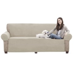 Pet Furniture Covers For Sectional Sofas Valencia Leather Corner Sofa Maytex 3 Piece Cover Set And Reviews
