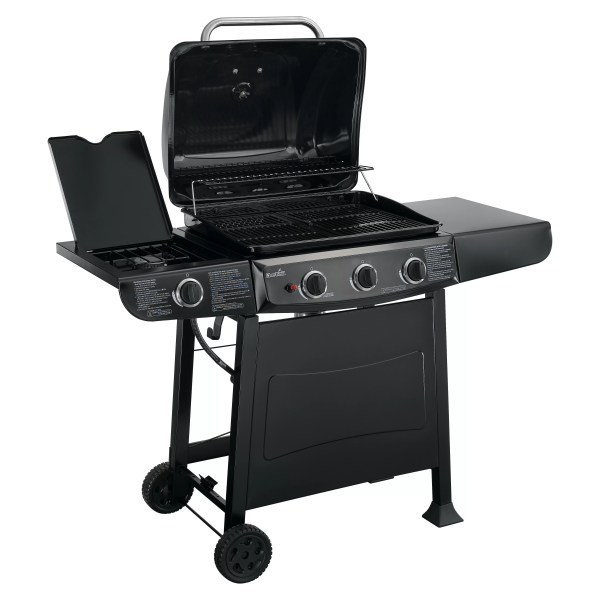 Charbroil Gas Grill With Side Burner &