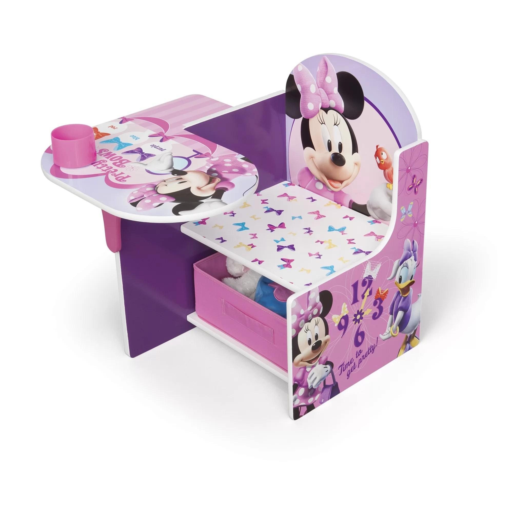 video game chair with cup holder metal bucket chairs delta children minnie kids desk storage