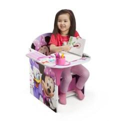 Toddler Chair Desk Cr Plastics Adirondack Chairs Review Delta Children Minnie Kids With Storage