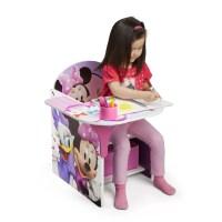 Delta Children Minnie Kids Desk Chair with Storage ...